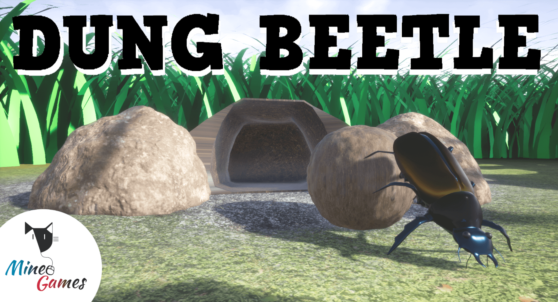 Dung Beetle Poster